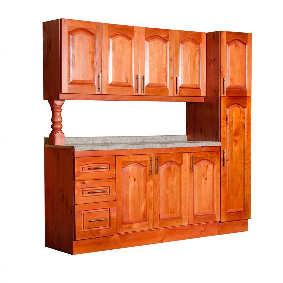 Muebles rio tolt n mueble cocina de madera 4 puertas 1 for Esmalte para muebles de cocina