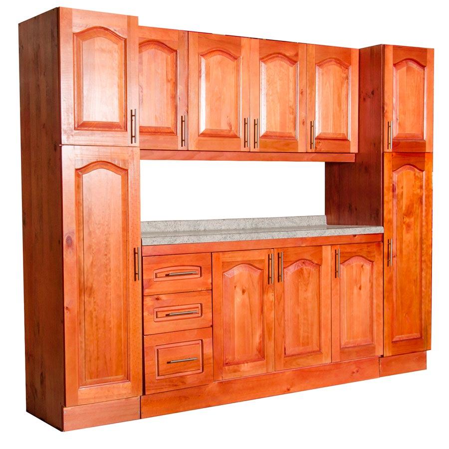 Muebles rio tolt n mueble cocina de madera 4 puertas con - Puertas mueble cocina ...