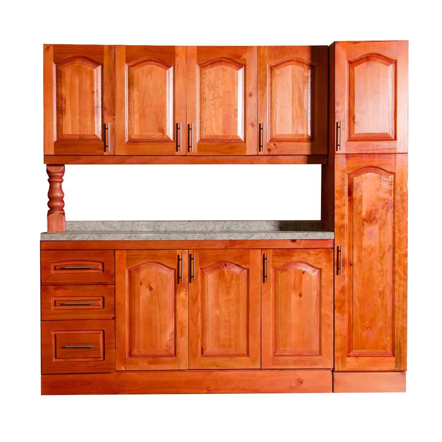 Muebles rio tolt n mueble cocina de madera 4 puertas 1 for Muebles cocina madera