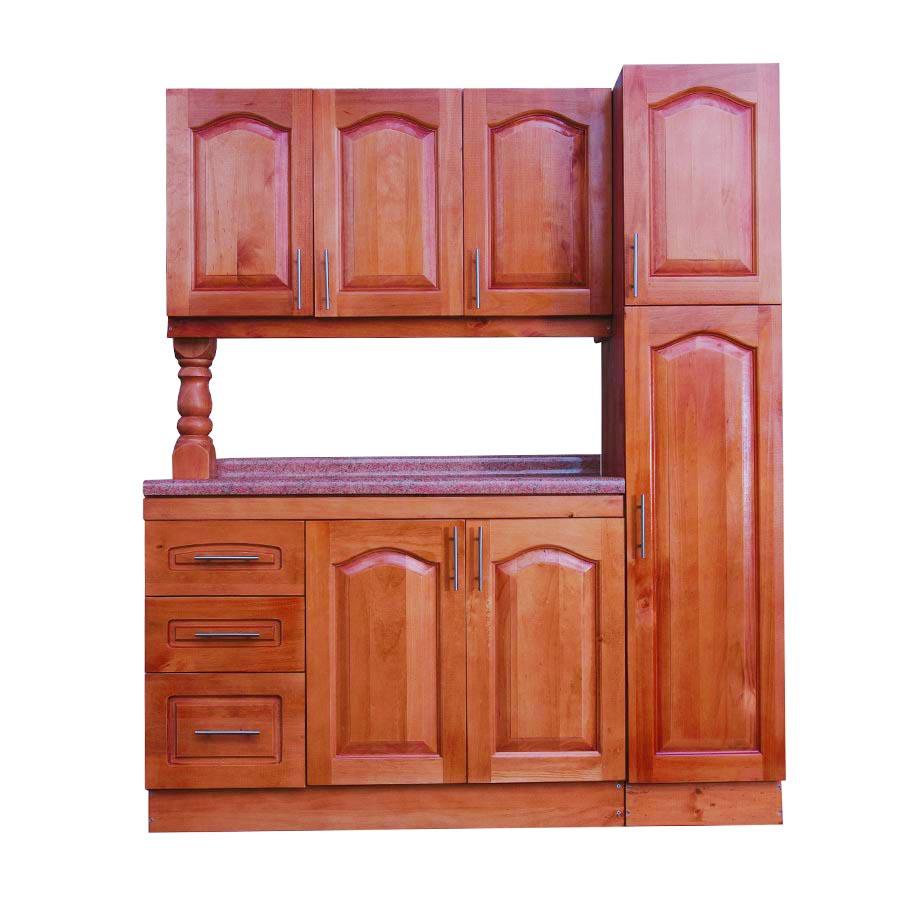 Muebles rio tolt n mueble cocina de madera 3 puertas 1 for Muebles cocina madera