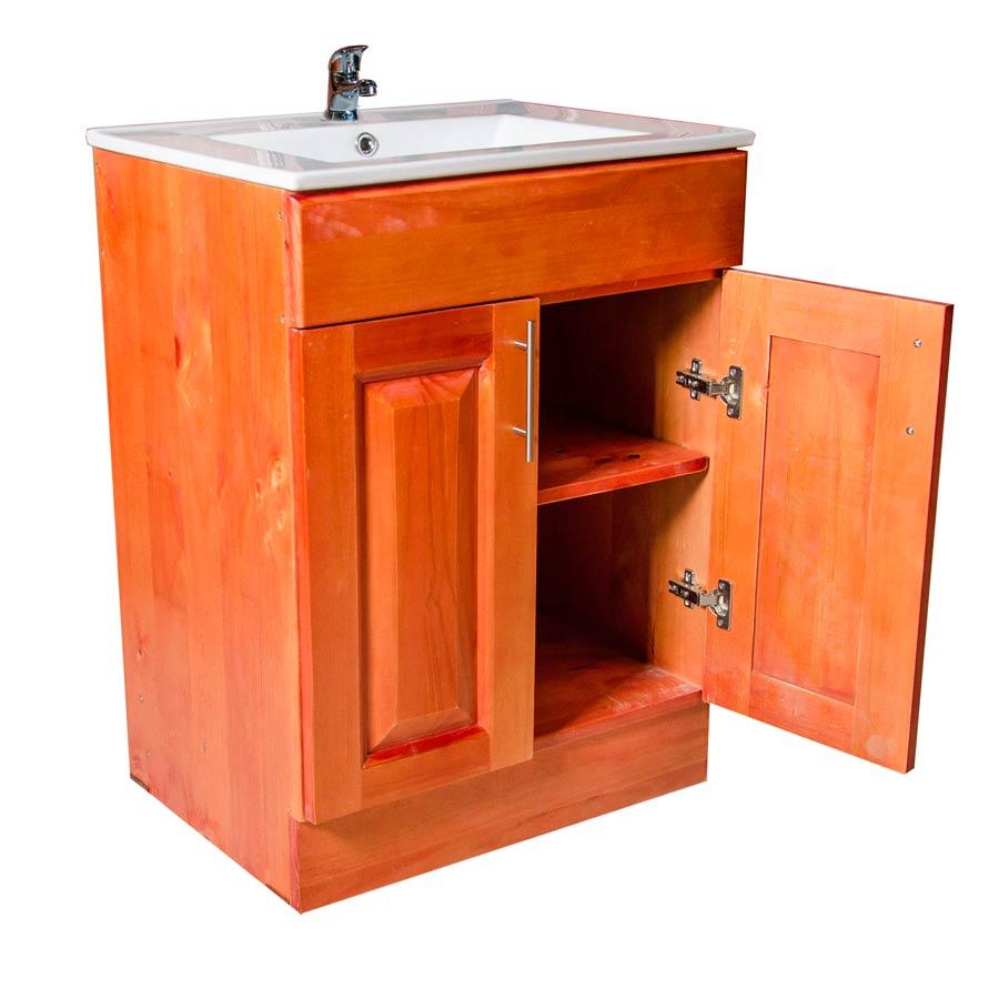 Muebles rio tolt n mueble vanitorio de madera 80 x 50x for Muebles de cocina anos 80